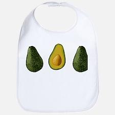 Avocados Bib