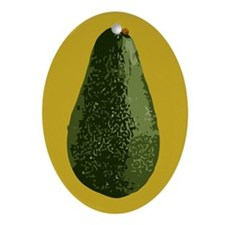 Avocados Ornament (Oval)