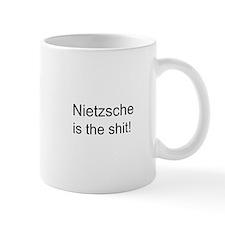 """Nietzsche Shit"" Small Mug"