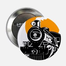 "Funny Steam engine 2.25"" Button"