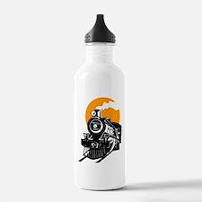 Funny Railroad train Water Bottle