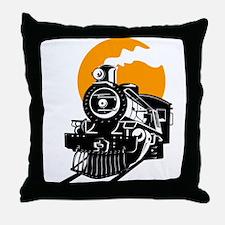 Unique Railroad train Throw Pillow