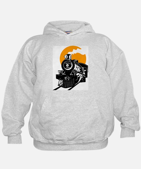 Cute Train Hoody