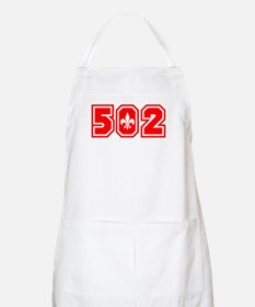 502 red Apron