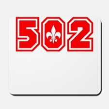 502 red Mousepad