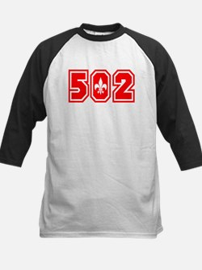 502 red Kids Baseball Jersey