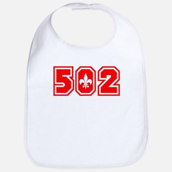 502 red Bib