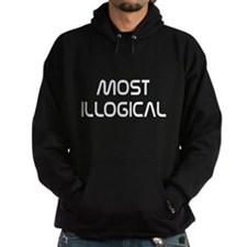 Spock Quote Most Illogical Hoodie