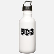 Black/White 502 Water Bottle