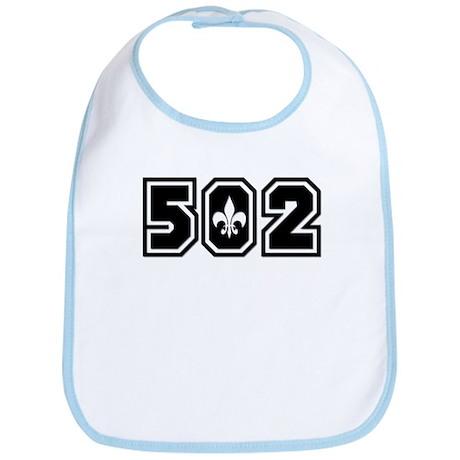 Black/White 502 Bib