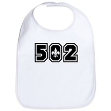 Black/White 502 Bib