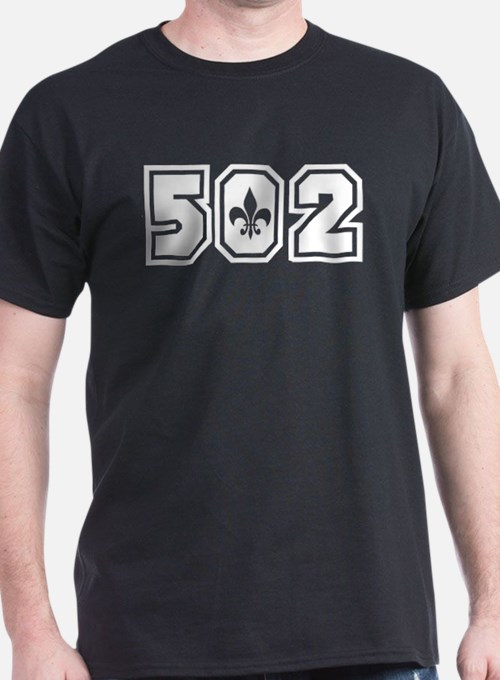 Black/White 502 T-Shirt