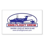 Fixed Wing EMS - King Air 200 Sticker (Rectangle 1