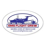 Fixed Wing EMS - King Air 200 Sticker (Oval 10 pk)
