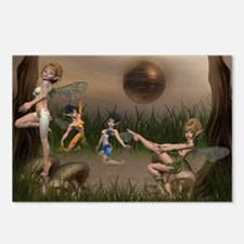the elemental fairies Postcards (Package of 8)
