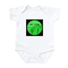 Cute Black sniper Infant Bodysuit