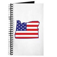 OR USA Flag Map 1 Journal