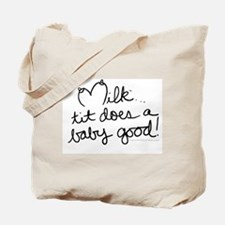 Tit does a baby good! Tote Bag