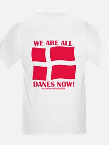 Support Denmark Free Speech Kids T-Shirt