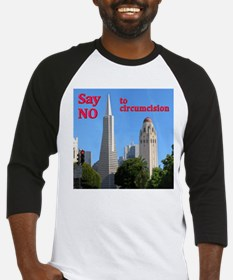 """Say No"" -TAPyramid+HooverTower Baseball Jersey"