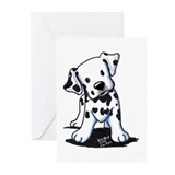 Dalmatian Greeting Cards (20 Pack)