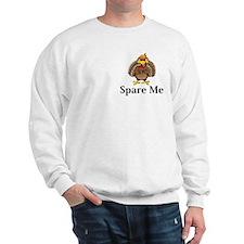 Spare Me Logo 13 Sweatshirt Design Front Pocket