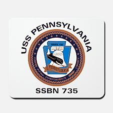 USS Pennsylvania SSBN 735 Mousepad