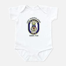 USS Maryland SSBN 738 Infant Creeper