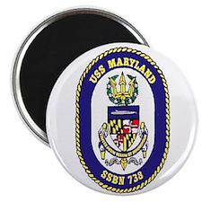 USS Maryland SSBN 738 Magnet