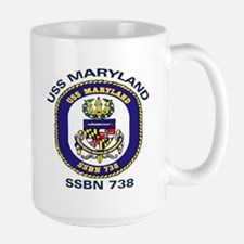USS Maryland SSBN 738 Mug