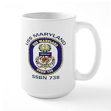 USS Maryland SSBN 738 Mug