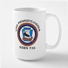 USS Pennsylvania SSBN 735 Mug