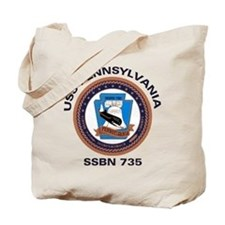 USS Pennsylvania SSBN 735 Tote Bag