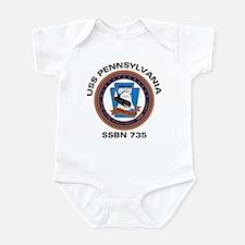 USS Pennsylvania SSBN 735 Infant Creeper