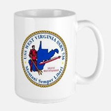 USS West Virginia SSBN 736 Mug