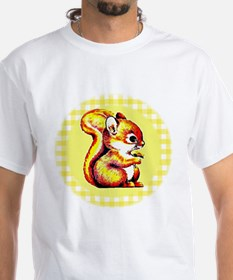 Red Squirrel Picture Shirt
