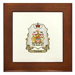 Canada Shield Framed Tile