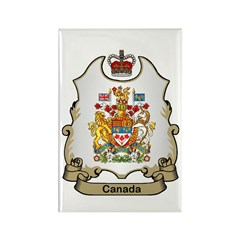 Canada Shield Rectangle Magnet