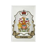 Canada Shield Rectangle Magnet (100 pack)