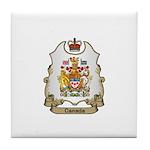 Canada Shield Tile Coaster