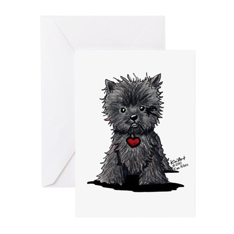 Affenpinscher Greeting Cards (Pk of 10)