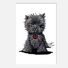 Affenpinscher Postcards (Package of 8)