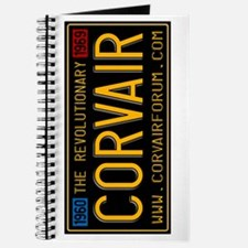 Corvair Vintage Plate Journal