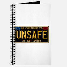 UNSAFE Vintage Plate Journal