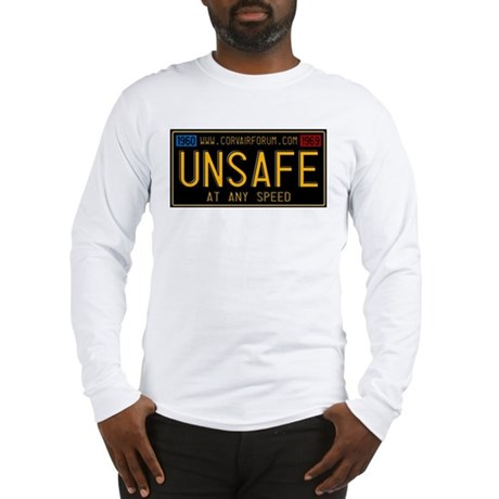 UNSAFE Vintage Plate Long Sleeve T-Shirt