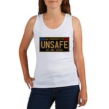 UNSAFE Vintage Plate Women's Tank Top