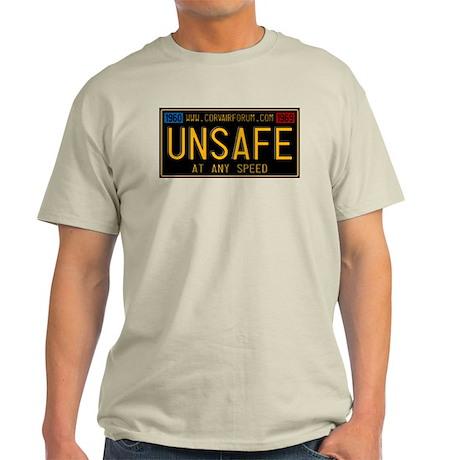 UNSAFE Vintage Plate Light T-Shirt