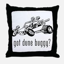 Dune Buggy Throw Pillow