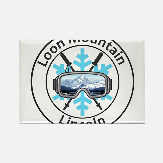 Loon Mountain - Lincoln - New Hampshire Magnets