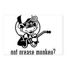Grease Monkey Postcards (Package of 8)